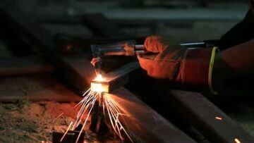 stock-footage-gas-cutting-metal-using-acetylene-torch